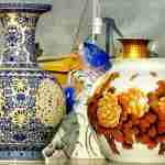 what was porcelain used for in ancient china