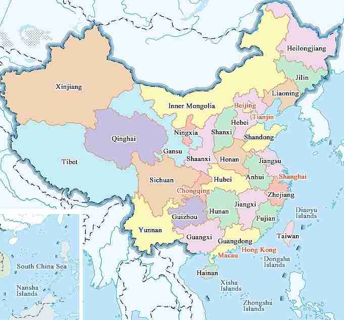 You are currently viewing what are the 23 provinces in china